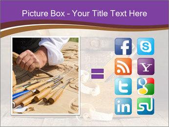 Wood Work PowerPoint Template - Slide 21