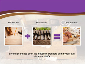 Wood Work PowerPoint Template - Slide 22