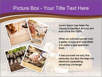 Wood Work PowerPoint Template - Slide 23