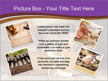 Wood Work PowerPoint Template - Slide 24