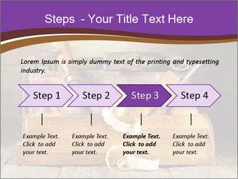 Wood Work PowerPoint Template - Slide 4
