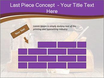 Wood Work PowerPoint Template - Slide 46