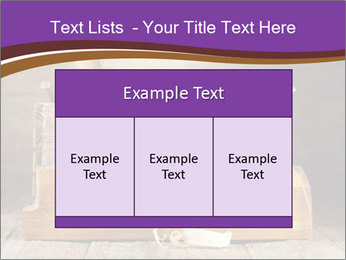 Wood Work PowerPoint Template - Slide 59