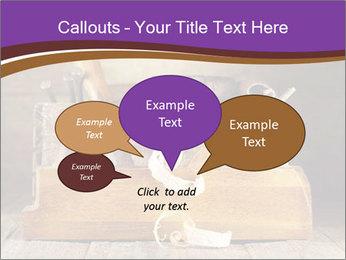 Wood Work PowerPoint Template - Slide 73