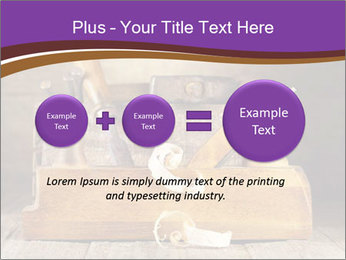 Wood Work PowerPoint Template - Slide 75