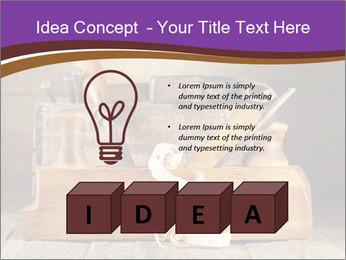 Wood Work PowerPoint Template - Slide 80