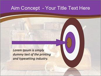 Wood Work PowerPoint Template - Slide 83