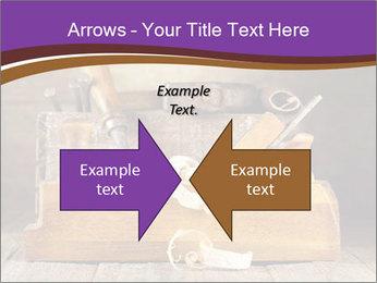 Wood Work PowerPoint Template - Slide 90
