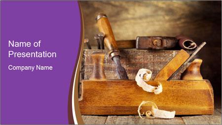 Wood Work PowerPoint Template