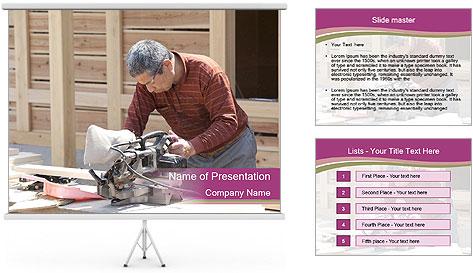 Carpenter PowerPoint Template