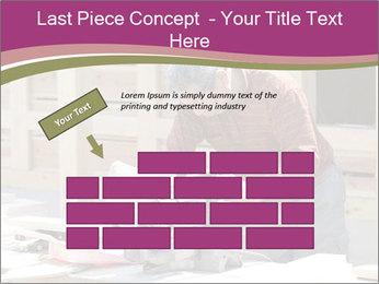 Carpenter PowerPoint Template - Slide 46