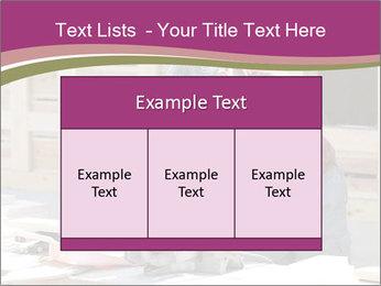 Carpenter PowerPoint Template - Slide 59