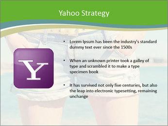 Stylish denim shorts PowerPoint Template - Slide 11