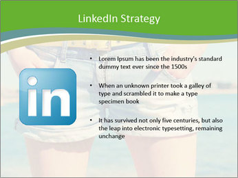 Stylish denim shorts PowerPoint Template - Slide 12
