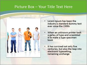 Stylish denim shorts PowerPoint Template - Slide 13