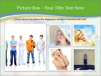 Stylish denim shorts PowerPoint Template - Slide 19