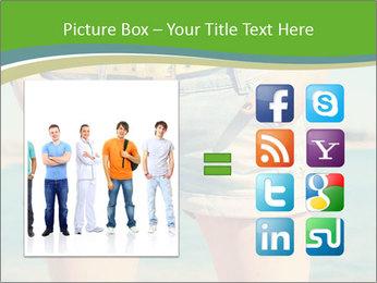 Stylish denim shorts PowerPoint Template - Slide 21