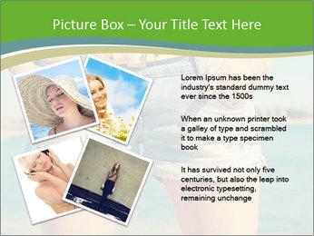 Stylish denim shorts PowerPoint Template - Slide 23