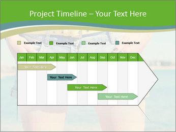 Stylish denim shorts PowerPoint Template - Slide 25