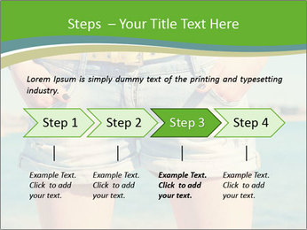 Stylish denim shorts PowerPoint Template - Slide 4