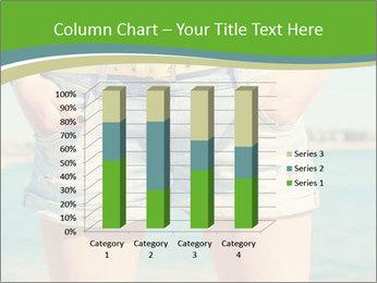 Stylish denim shorts PowerPoint Template - Slide 50