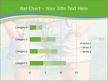 Stylish denim shorts PowerPoint Template - Slide 52