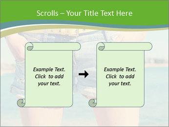 Stylish denim shorts PowerPoint Template - Slide 74