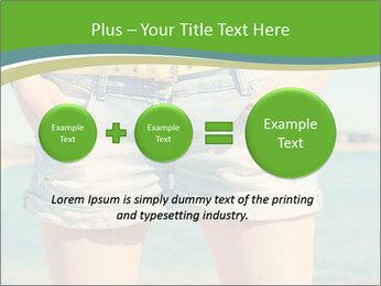 Stylish denim shorts PowerPoint Template - Slide 75