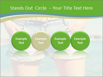 Stylish denim shorts PowerPoint Template - Slide 76