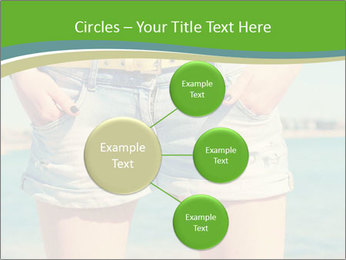 Stylish denim shorts PowerPoint Templates - Slide 79