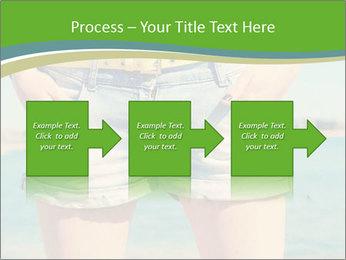 Stylish denim shorts PowerPoint Template - Slide 88