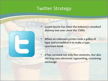 Stylish denim shorts PowerPoint Template - Slide 9