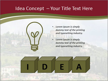 View on Sanctuary PowerPoint Template - Slide 80