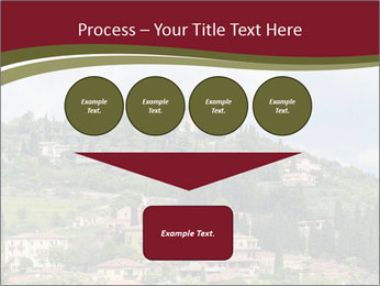 View on Sanctuary PowerPoint Template - Slide 93