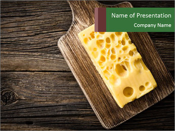 Cheese PowerPoint Template - Slide 1