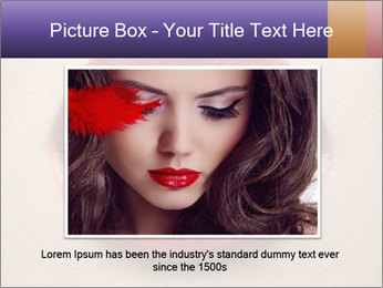 Sexy Lips PowerPoint Template - Slide 16