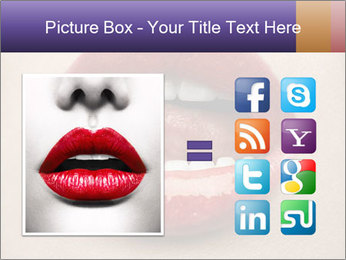 Sexy Lips PowerPoint Template - Slide 21