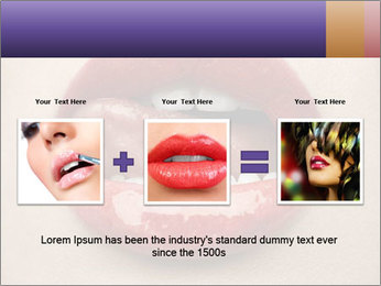 Sexy Lips PowerPoint Template - Slide 22