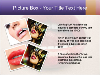 Sexy Lips PowerPoint Template - Slide 23