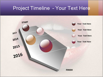 Sexy Lips PowerPoint Template - Slide 26