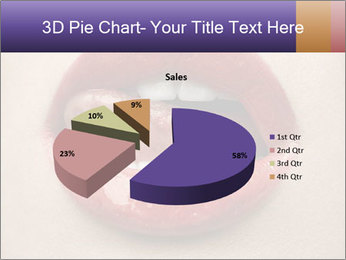 Sexy Lips PowerPoint Template - Slide 35