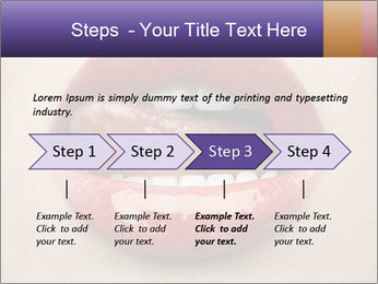 Sexy Lips PowerPoint Template - Slide 4