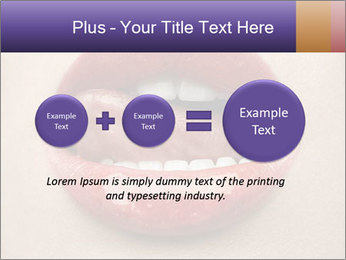 Sexy Lips PowerPoint Template - Slide 75
