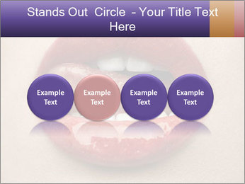 Sexy Lips PowerPoint Template - Slide 76