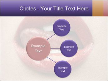Sexy Lips PowerPoint Template - Slide 79