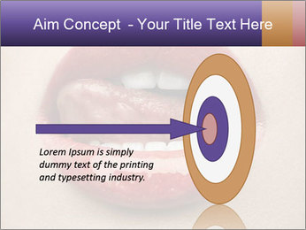 Sexy Lips PowerPoint Template - Slide 83