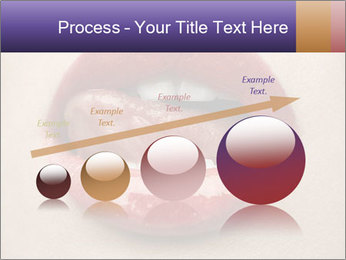 Sexy Lips PowerPoint Template - Slide 87