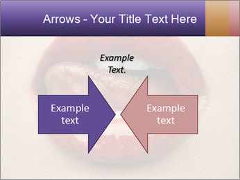 Sexy Lips PowerPoint Template - Slide 90