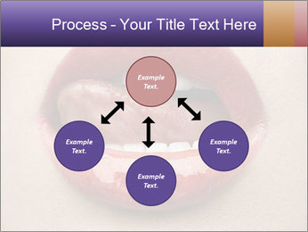 Sexy Lips PowerPoint Template - Slide 91