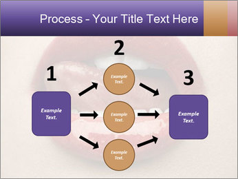 Sexy Lips PowerPoint Template - Slide 92